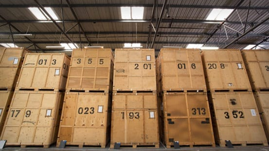 containerised storage