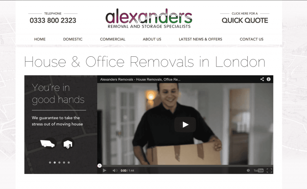 Alexanders Launches New V2 Website