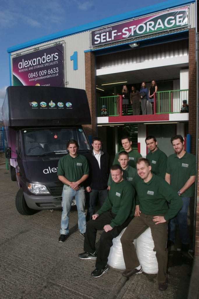 Alexanders Launches Self Storage