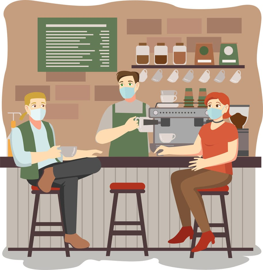 covid 19 storage solutions cafes